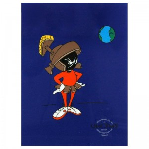 Marvin Martian by Chuck Jones (1912-2002)! Sold Out Limited Edition Sericel