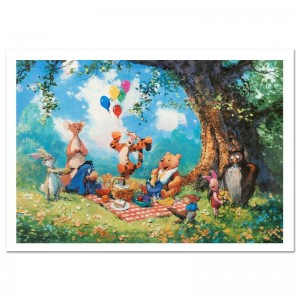 Splendiferous Picnic Limited Edition Lithograph by James Coleman
