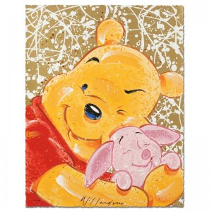 Very Important Piglet Disney Limited Edition Serigraph by David Willardson