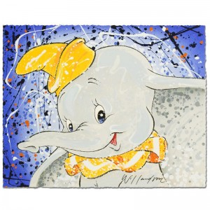 Keep It Under Your Hat Disney Limited Edition Serigraph by David Willardson