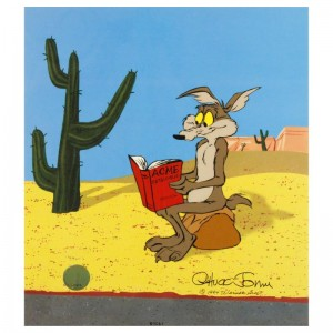 Acme Catalogue Sold Out Limited Edition Animation Cel with Hand Painted Color! Numbered and Hand Signed by Chuck Jones (1912-2002) with Certificate of Authenticity!