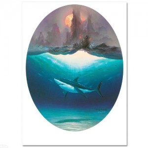 "Wyland & John Pitre - ""Aumakua and the Ancient Voyagers"" Limited Edition Lithograph"