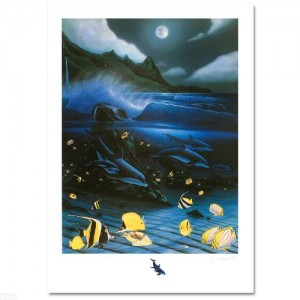 Hanalei Bay Limited Edition Mixed Media by Famed Artist Wyland