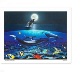 The Living Sea Limited Edition Giclee on Canvas by Renowned Artist Wyland