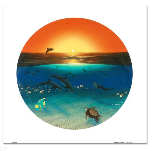 Warmth of the Sea LIMITED EDITION Giclee on Canvas by renowned artist WYLAND