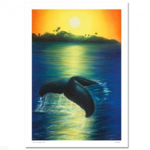 New Dawn LIMITED EDITION Giclee on Canvas by renowned artist WYLAND