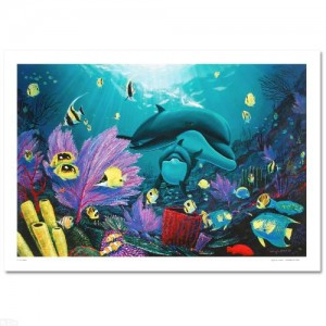 "Sea of Light LIMITED EDITION Giclee on Canvas (36"" x 24"") by renowned artist WYLAND"