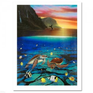 "Ancient Mariner Limited Edition Giclee on Canvas (30"" x 40"") by Renowned Artist Wyland"