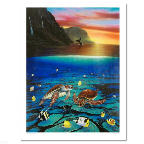 """Ancient Mariner Limited Edition Giclee on Canvas (30"""" x 40"""") by Renowned Artist Wyland"""