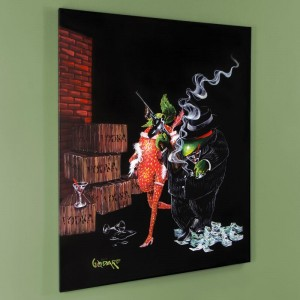 Ollie Capone LIMITED EDITION Giclee on Canvas by Michael Godard