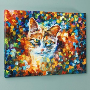 Bright Eyes LIMITED EDITION Giclee on Canvas by Leonid Afremov