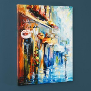 By the Light LIMITED EDITION Giclee on Canvas by Leonid Afremov