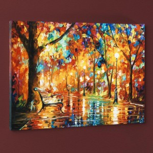 Burst of Autumn LIMITED EDITION Giclee on Canvas by Leonid Afremov