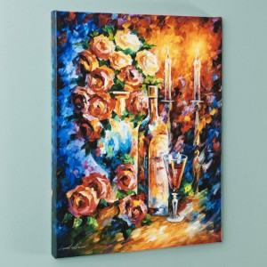 Shabbat II LIMITED EDITION Giclee on Canvas by Leonid Afremov