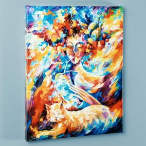 Night Cap LIMITED EDITION Giclee on Canvas by Leonid Afremov