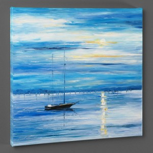 Far from Shore LIMITED EDITION Giclee on Canvas by Leonid Afremov