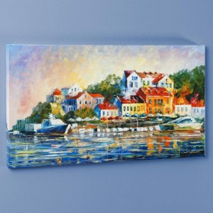 Mediterranean Noon LIMITED EDITION Giclee on Canvas by Leonid Afremov