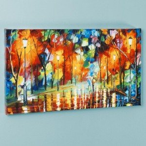 Mirror Streets LIMITED EDITION Giclee on Canvas by Leonid Afremov