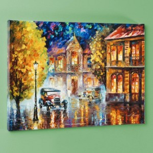 Los Angeles 1930 LIMITED EDITION Giclee on Canvas by Leonid Afremov