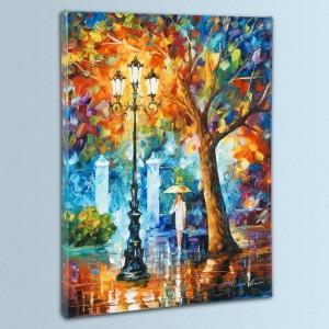 Night Aura LIMITED EDITION Giclee on Canvas by Leonid Afremov