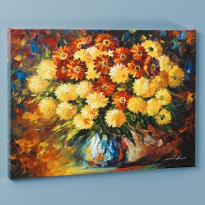 Evening Mood LIMITED EDITION Giclee on Canvas by Leonid Afremov