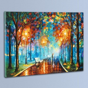 Misty Mood LIMITED EDITION Giclee on Canvas by Leonid Afremov