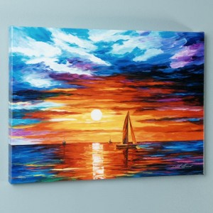 Touch of Horizon LIMITED EDITION Giclee on Canvas by Leonid Afremov