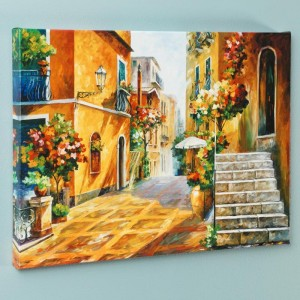 The Sun of Sicily LIMITED EDITION Giclee on Canvas by Leonid Afremov