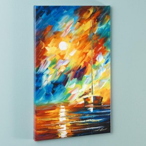 Rainbow Sky LIMITED EDITION Giclee on Canvas by Leonid Afremov