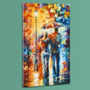 Warmth LIMITED EDITION Giclee on Canvas by Leonid Afremov
