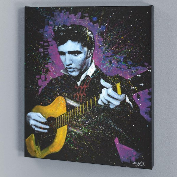 A Young King LIMITED EDITION Giclee on Canvas by Stephen Fishwick