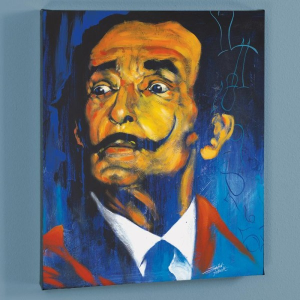 Dali LIMITED EDITION Giclee on Canvas by Stephen Fishwick
