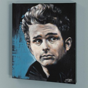 James Limited Edition Giclee on Canvas by Stephen Fishwick