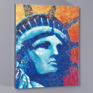 Liberty LIMITED EDITION Giclee on Canvas by Stephen Fishwick