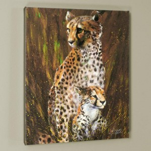 Mother and Child LIMITED EDITION Giclee on Canvas by Stephen Fishwick