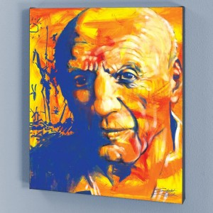 Picasso LIMITED EDITION Giclee on Canvas by Stephen Fishwick