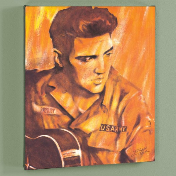 US ARMY LIMITED EDITION Giclee on Canvas by Stephen Fishwick