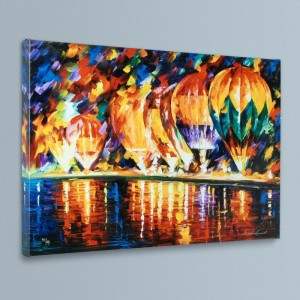 With the Stars LIMITED EDITION Giclee on Canvas by Leonid Afremov