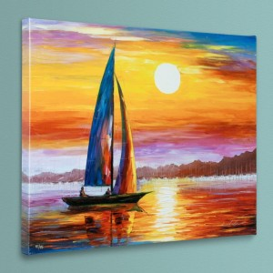 Lovely Solitude LIMITED EDITION Giclee on Canvas by Leonid Afremov