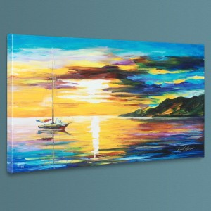 Sunset LIMITED EDITION Giclee on Canvas by Leonid Afremov