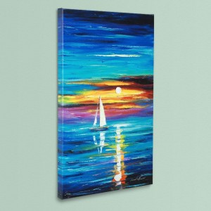 Reflection LIMITED EDITION Giclee on Canvas by Leonid Afremov