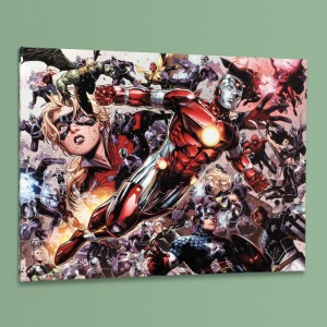 Avengers: The Children's Crusade #5 LIMITED EDITION Giclee on Canvas by Jim Cheung and Marvel Comics