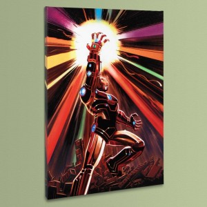 Avengers #12 LIMITED EDITION Giclee on Canvas by John Romita Jr. and Marvel Comics