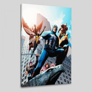 Avengers #82 Limited Edition Giclee on Canvas by Scott Kolins and Marvel Comics