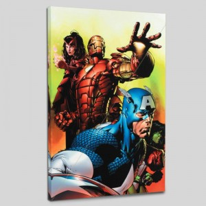 Avengers #501 LIMITED EDITION Giclee on Canvas by David Finch and Marvel Comics