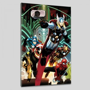 Avengers #5 LIMITED EDITION Giclee on Canvas by John Romita Jr. and Marvel Comics