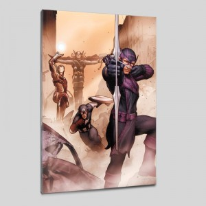 Avengers: Solo #1 Limited Edition Giclee on Canvas by John Tyler Christopher and Marvel Comics