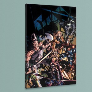 Dark Avengers #10 LIMITED EDITION Giclee on Canvas by Mike Deodato Jr. and Marvel Comics