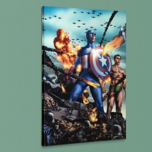 Giant-Size Invaders #2 LIMITED EDITION Giclee on Canvas by Jay Anacleto and Marvel Comics