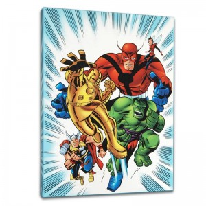 Avengers #1 1/2 Limited Edition Giclee on Canvas by Bruce Timm and Marvel Comics